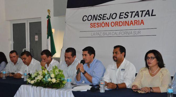 PAN: Consejo Estatal