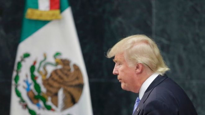 Trump: Unifica México