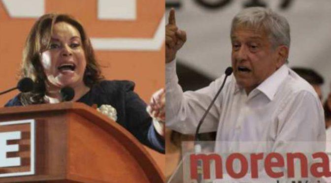 AMLO y Elba: Juntos, pero no Revueltos