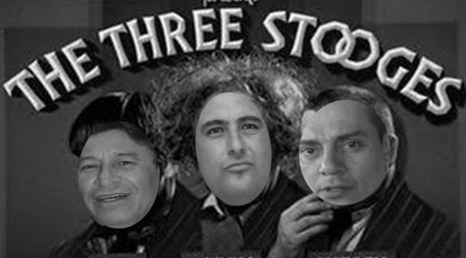 PRI: Los Tres Chiflados