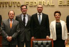 Marco Antonio Baños Martínez, Benito Nacif Hernández, y Alejandra Pamela San Martín Ríos y Valles