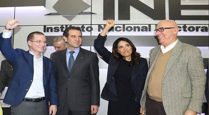 #PorMéxicoalFrente…PRI: Venta de Delegaciones…VCC: Paso a Pasito