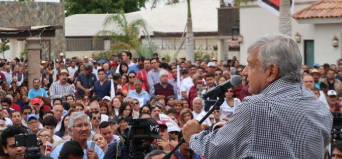 AMLO: Partió Plaza en La Paz