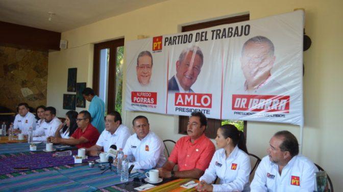 Los Cabos: Ibarra sin AMLO