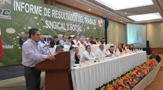 Esteban Vargas: Una CROC-BCS Fortalecida