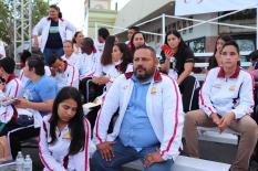 02 Ante miles de personas, la plaza pública Antonio Mijares fue sede del Primer Informe de Gobierno de la presidenta municipal Armida Castro...jpeg