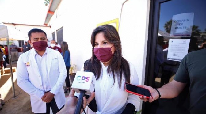 A más de 8 mil familias cabeñas han llegado los apoyos asistenciales del Gobierno de Armida Castro Guzmán