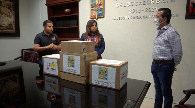 Reciben hospitales y clínicas donación de equipo de protección por parte del Gobierno de Armida Castro