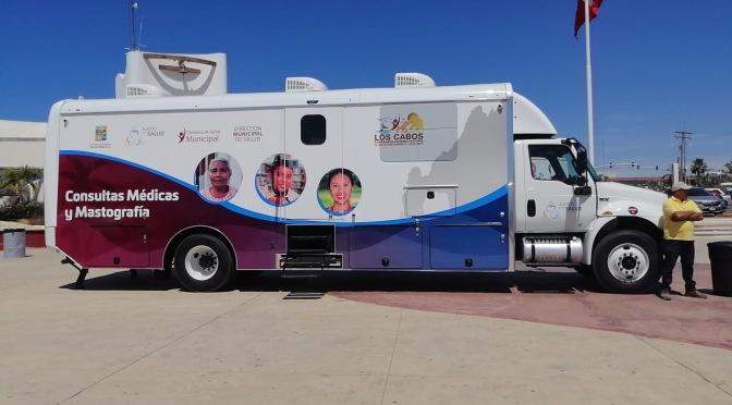 La Caravana de la Salud funciona de manera extraordinaria ante la contingencia sanitaria por COVID-19