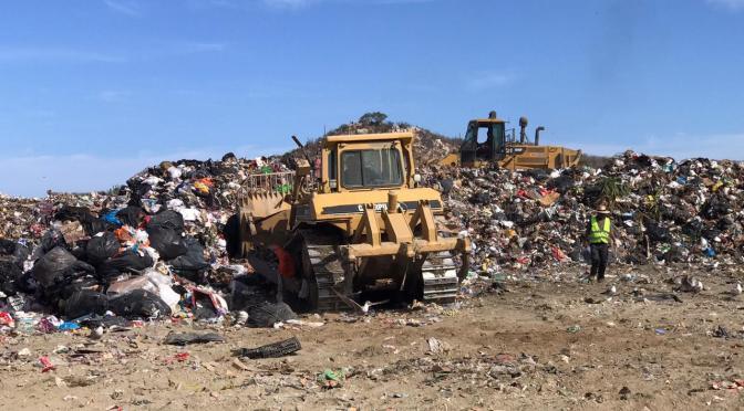 Servicios Públicos registra una disminución en la captación de basura