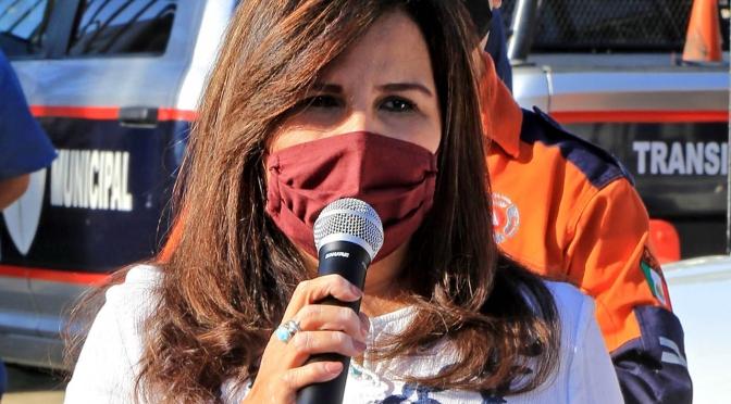 """""""A través de Servicios Públicos trabajamos por una ciudad limpia, ordenada e iluminada"""": alcaldesa Armida Castro"""