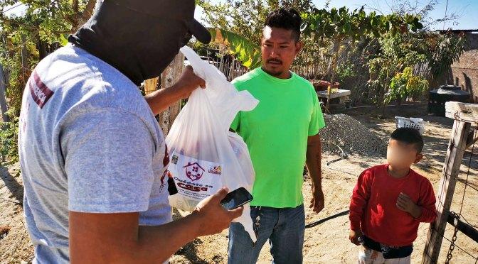 La ayuda continúa llegando a quien más lo necesita; reconocen ciudadanos los más de 37 mil apoyos por parte del Gobierno de Armida Castro