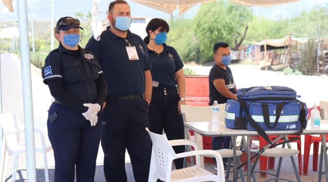 Ante contingencia sanitaria, se han montado 160 puestos informativos en Los Cabos