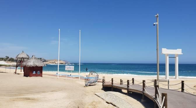 ZOFEMAT Los Cabos mantiene los estándares de calidad en playas, durante la contingencia sanitaria