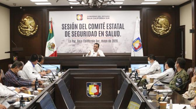 Refuerza comité de seguridad en salud medidas de previción