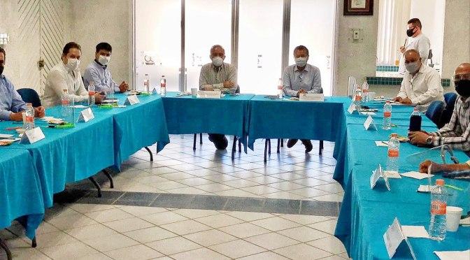 Gobierno Estatal y Empresarios prepararan protocolos sanitarios para reapertura de actividades económicas