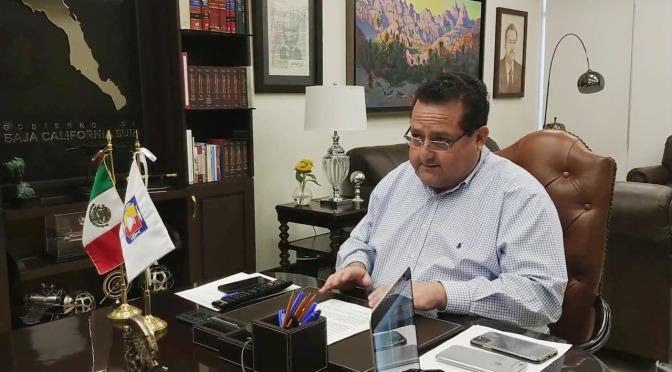 Se reúne Gobernador con Secretario de Hacienda y Títulares del Poder Ejecutivo de las Entidades