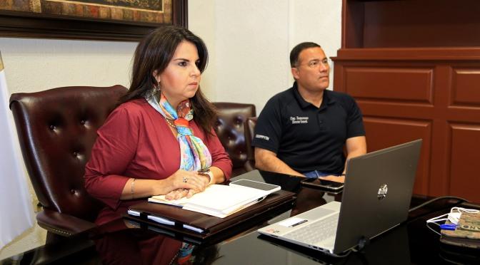 Alcaldesa de Los Cabos persiste en la lucha para garantizar la salud de la ciudadanía, durante la actual etapa de contagios de COVID-19