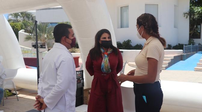 La prioridad es garantizar la salud de la ciudadanía: Presidenta de Los Cabos