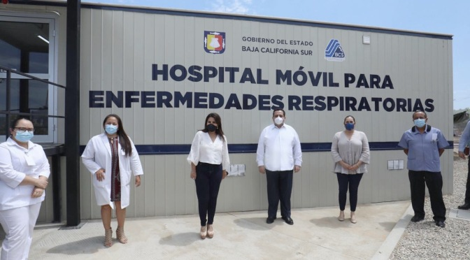 GOBERNADOR PONE EN MARCHA HOSPITAL MÓVIL DE CABO SAN LUCAS