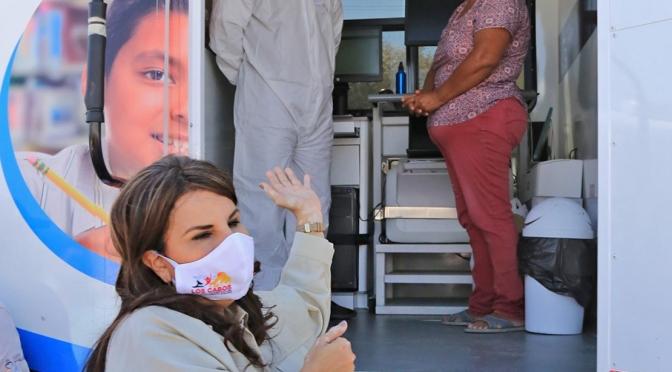 """El programa municipal """"Caravana de la Salud"""" acerca servicios médicos gratuitos a las personas que más lo necesitan"""