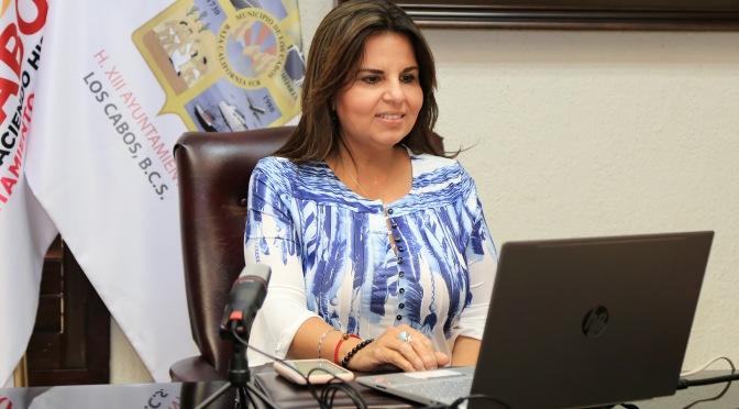 """""""Si es necesario, Los Cabos se detendrá para frenar el acelerado número de nuevos contagios por COVID-19"""": alcaldesa Armida Castro"""