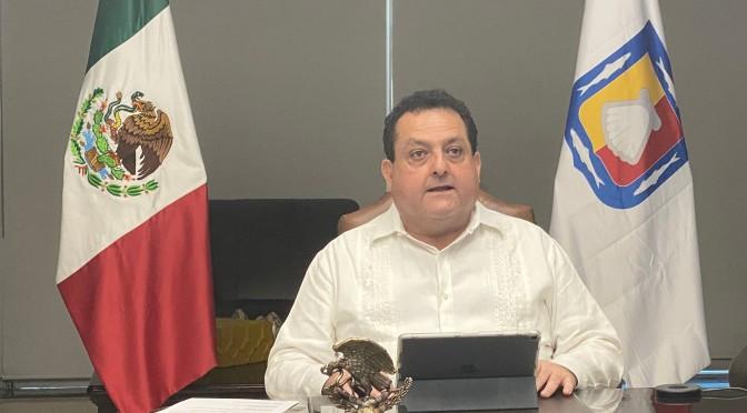ENTREGA GOBERNADOR CARLOS MENDOZA DAVIS PRESIDENCIA DE CONAGO