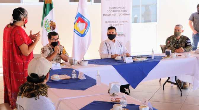 CONTINUARÁ COADYUVANDO MESA DE SEGURIDAD CON ALIANZA COMUNITARIA BCS: ÁLVARO DE LA PEÑA