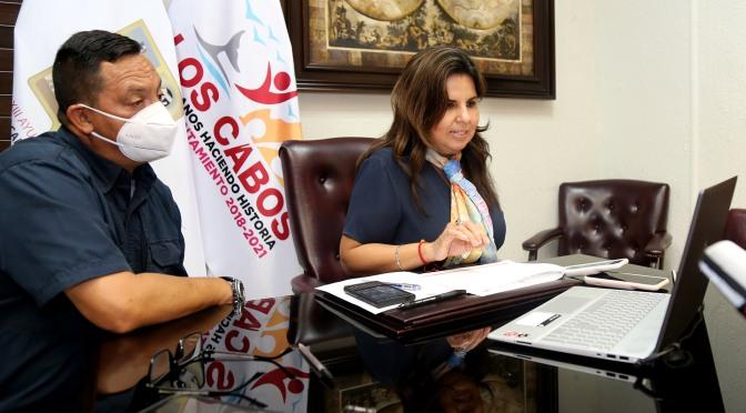"""Declara alcaldesa Armida Castro sesión permanente del Consejo Municipal de Protección Civil ante posibles riesgos por """"Genevieve"""""""