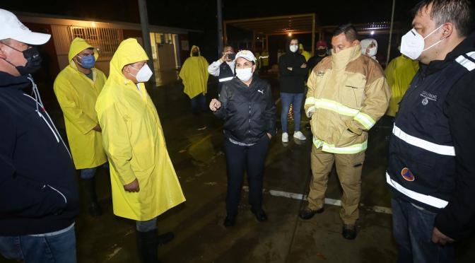 """""""Genevieve"""" se aleja de Los Cabos; el llamado continúa a permanecer en resguardo durante las próximas horas"""