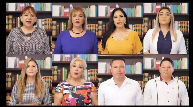 Reforma Electoral viola el estado de derecho, al sustentarse en una ley inexistente: diputados de oposición