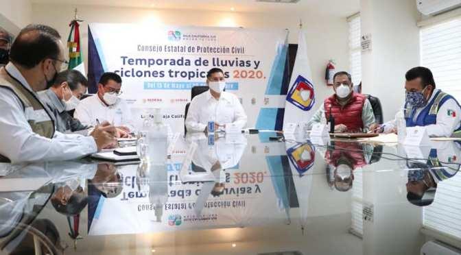 """EXHORTA CONSEJO ESTATAL DE PROTECCIÓN CIVIL ATENDER MEDIDAS PREVENTIVAS POR """"GENEVIEVE"""": ÁLVARO DE LA PEÑA"""
