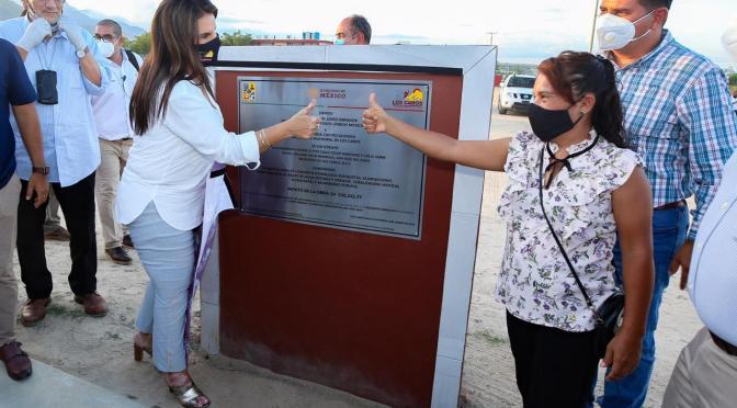 ¡Palabra cumplida de la alcaldesa Armida Castro! Inaugura obras para beneficio de 19 mil 417 habitantes de Los Cabos