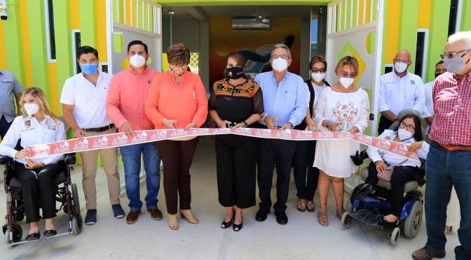 Con más obras Gobierno de Los Cabos promueve la inclusión y desarrollo de las personas con discapacidad