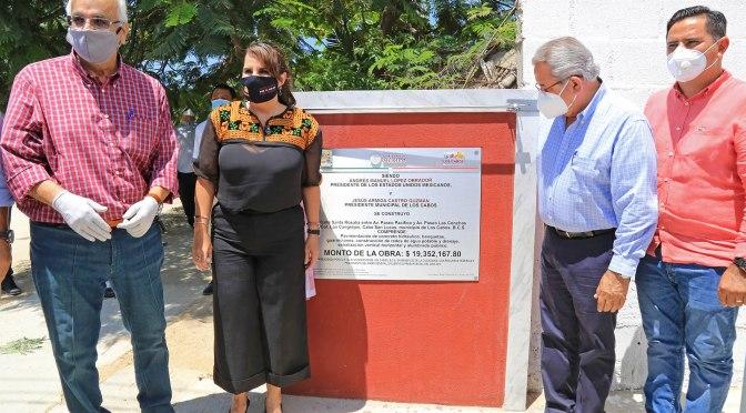 ¡Gobierno de Los Cabos cumple!; inicia la entrega de 22 calles pavimentadas