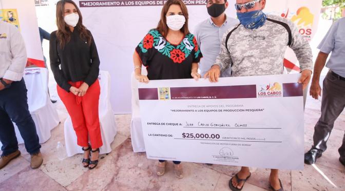 Mejoramiento a los equipos de Producción Pesquera, prioridad de la alcaldesa Armida Castro