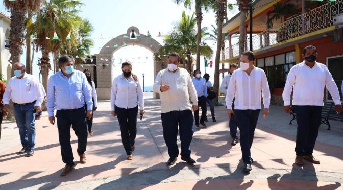 ACUERDAN FONATUR Y GOBIERNO DEL ESTADO GENERAR MÁS DESARROLLO PARA LORETO Y BCS