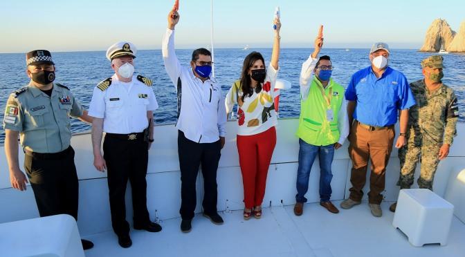 Con todas las medidas de higiene y sana distancia, dio inicio el torneo de pesca Bisbee's Los Cabos Offshore