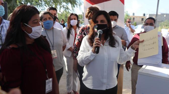 Después de años de olvido, gracias a las gestiones de la alcaldesa Armida Castro 300 familias de CSL tendrán red de agua potable