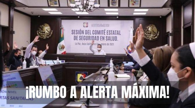 Preocupa que no se logren bajar casos en Baja California Sur