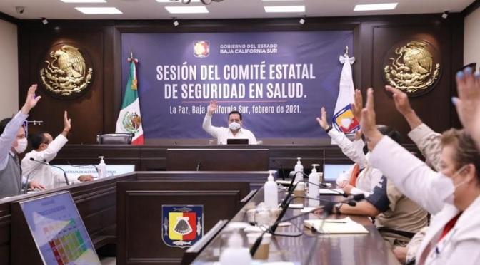 Baja el nivel de alerta en La Paz, Comondú, Loreto y Mulegé