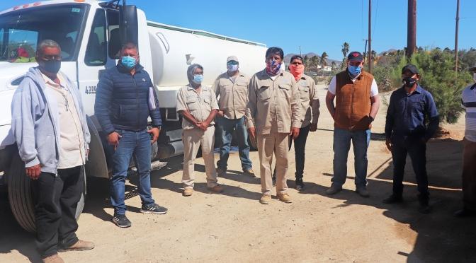 Fortalece Gobierno de Los Cabos el suministro de agua potable en Cabo San Lucas