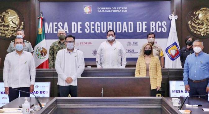 ¡En Baja California Sur los delitos van en descenso!