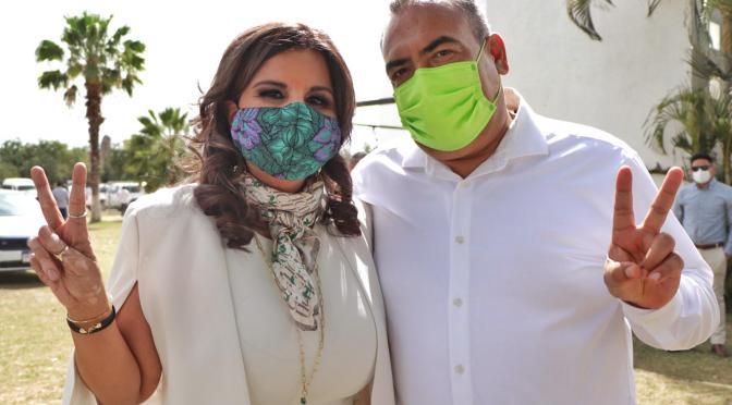 """""""Chaky"""" y Armida precandidatos del PVEM"""