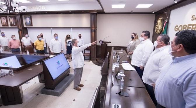 Alvaro Gómez Reynoso sustituye a Andrés Córdova Urrutia en Secretaría de Desarrollo