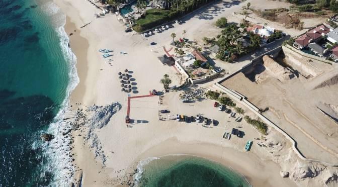 Continúan los filtros de higiene en accesos a playas de Los Cabos