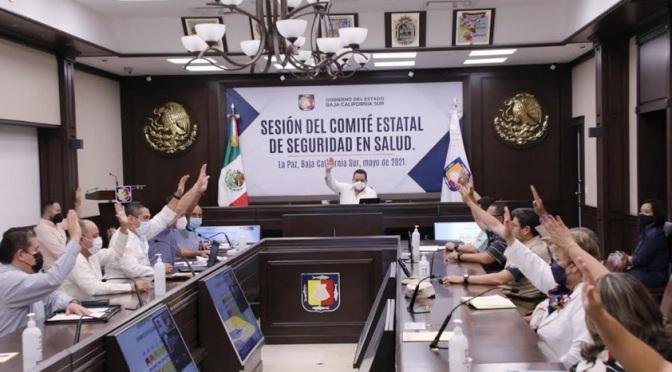 Nivel 3 de alerta sanitaria para todo Baja California Sur