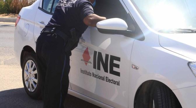 En Los Cabos no se descuidará la seguridad de las colonias durante la Jornada Electoral del próximo 6 de junio