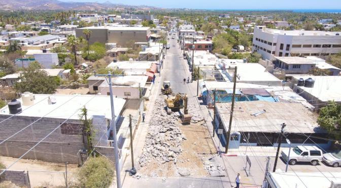 Gobierno de Los Cabos informa sobre el cierre temporal por rehabilitación de 10 importantes calles
