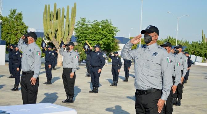 Certificación de los cuerpos policiacos de Baja California Sur
